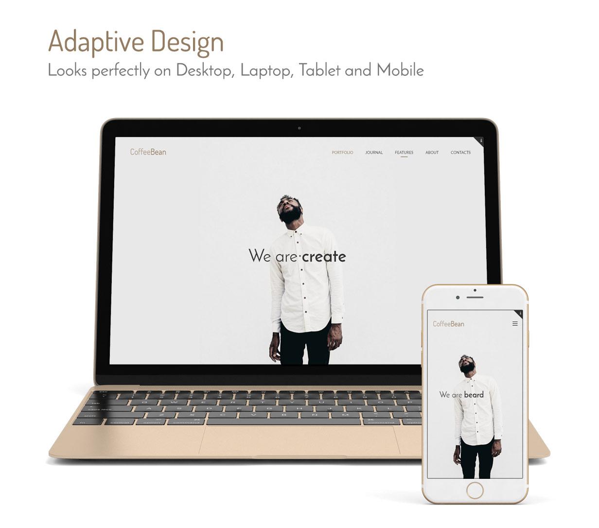 CoffeeBean - Easy & Simple Portfolio for Freelancers, Studios and Photographers - 2