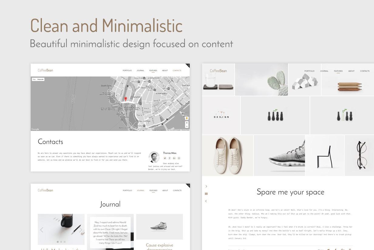 CoffeeBean - Easy & Simple Portfolio for Freelancers, Studios and Photographers - 6