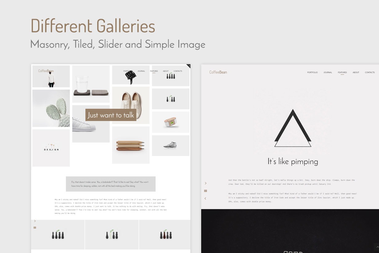 CoffeeBean - Easy & Simple Portfolio for Freelancers, Studios and Photographers - 8