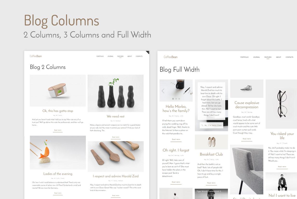 CoffeeBean - Easy & Simple Portfolio for Freelancers, Studios and Photographers - 10